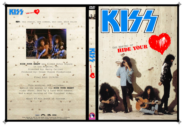 KISS - The makin of: Hide your Heart - Guitars101 - Guitar Forums