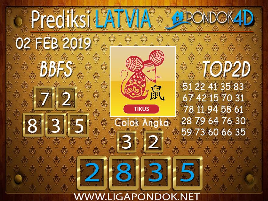 Prediksi Togel LATVIA PONDOK4D 02 FEBRUARI 2019
