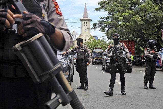 Pasca-Bom-Gereja-Katedral-Makassar