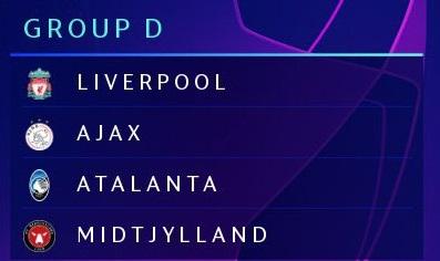 Champions League 2020/21 | Group D Girodi