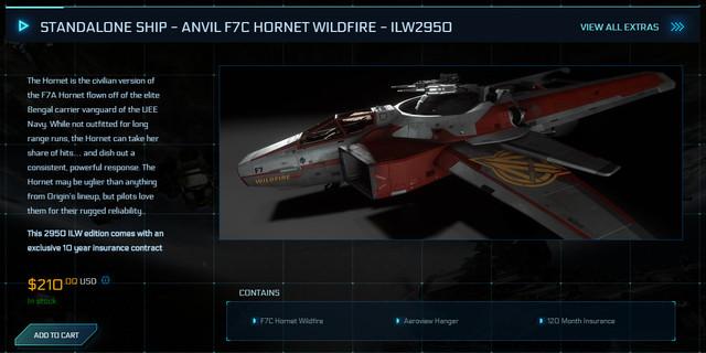 STANDALONE-SHIP-ANVIL-F7-C-HORNET-WILDFIRE-ILW2950