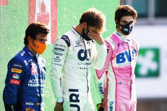 F1 GP d'Italie 2020 : Victoire Pierre Gasly (Alpha Tauri) Carlos-Sainz-Jr-Pierre-Gasly-Lance-Stroll-1