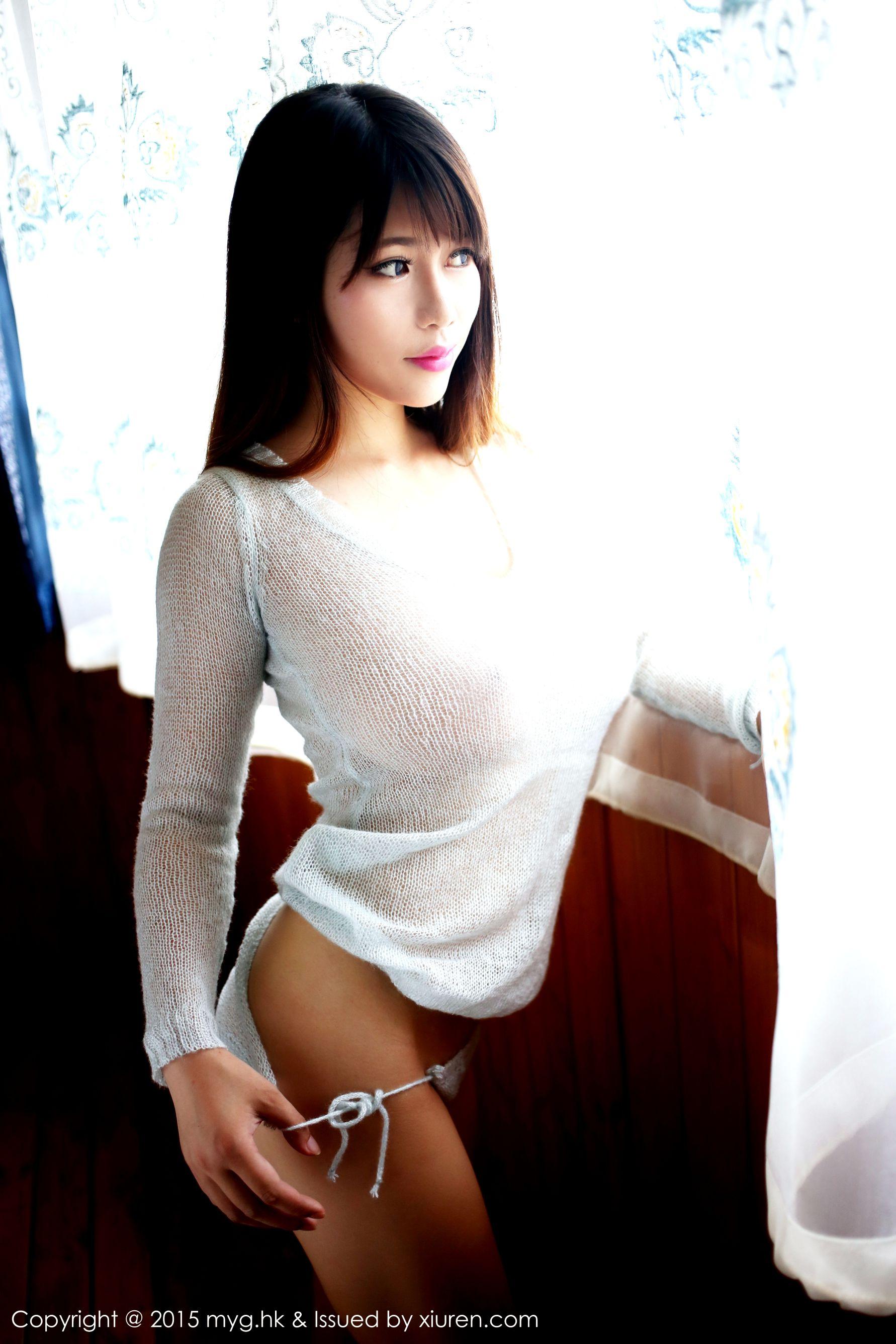 [MyGirl美媛馆] Vol.128 H罩杯巨乳模特@瑞莎Trista