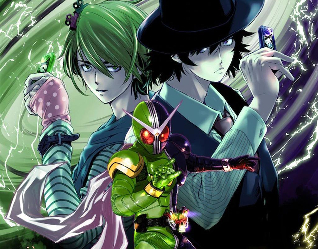 Kamen rider - Fuuto pi anime