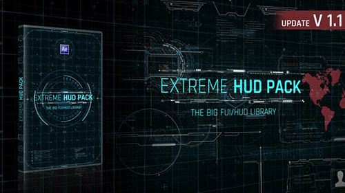 Extreme HUD Pack V1.1 28985545 - Project for After Effects (Videohive)