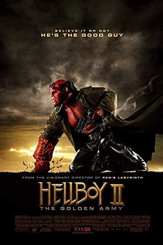 Hellboy II: The Golden Army 2008 Download English 720p
