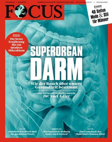 Cover: Focus Nachrichtenmagazin No 28 vom 10  Juli 2021