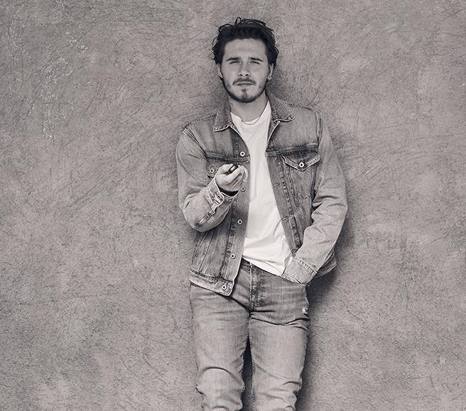Brooklyn Beckham fotografo della campagna sostenibile Pepe Jeans