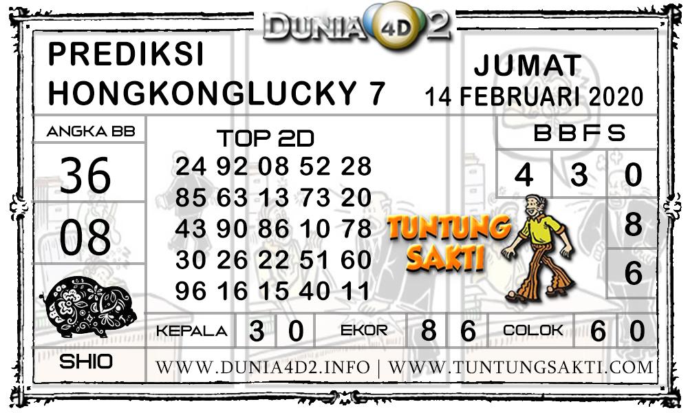 Prediksi Togel HONGKONG LUCKY7 DUNIA4D2 14 FEBRUARI 2020