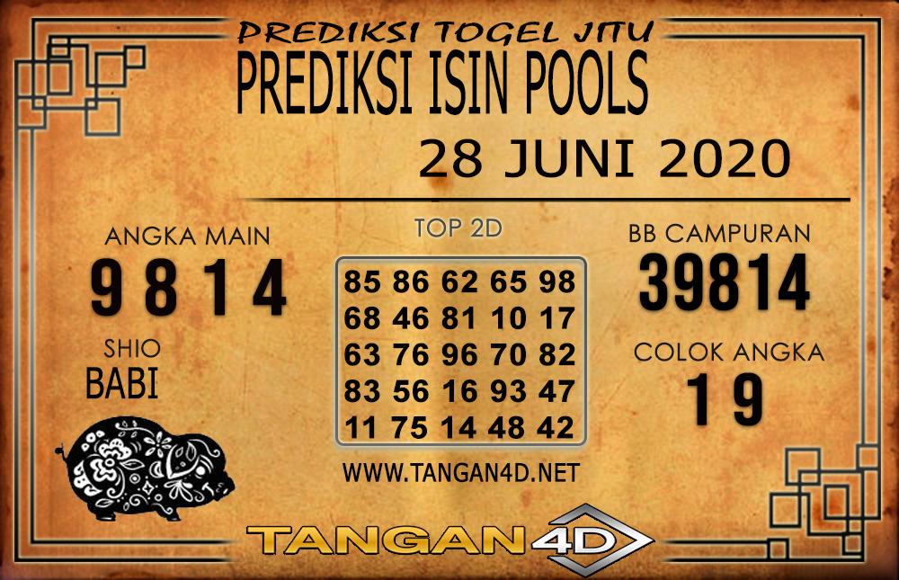 PREDIKSI TOGEL ISIN TANGAN4D 28 JUNI 2020