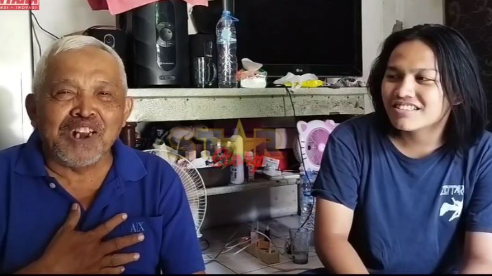 Tanggapan Kakek Suhud (kiri) dan sang cucu (kanan) soal permintaan maaf Baim Wong.