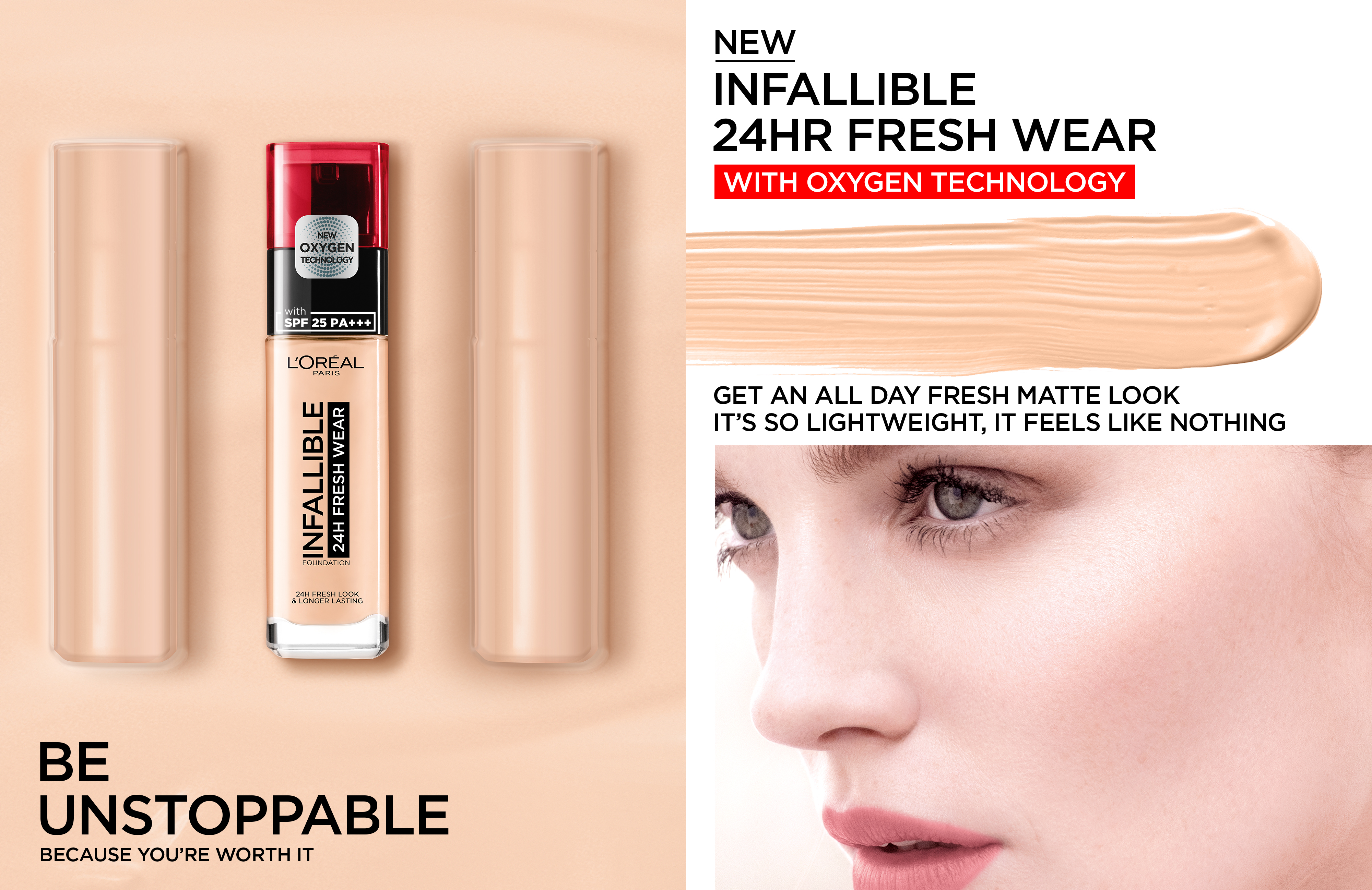 Infallible 24hr Fresh Wear Foundation By L Oreal Paris Review Face Tryandreview Com