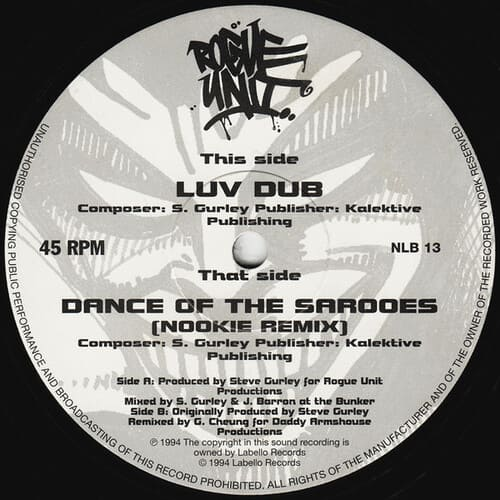 Download Rogue Unit - Luv Dub / Dance Of The Sarooes Remix mp3