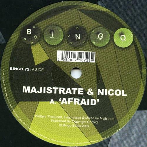 Download Majistrate & Nicol - Afraid / Bill Murry mp3