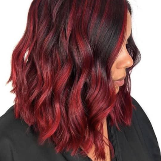 cherry cola -hair-color