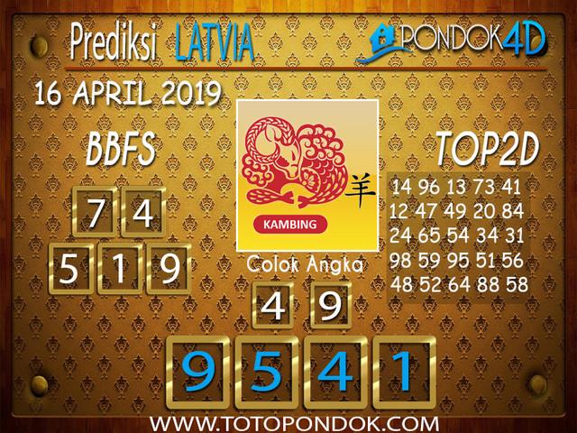 Prediksi Togel LATVIA PONDOK4D 16 APRIL 2019