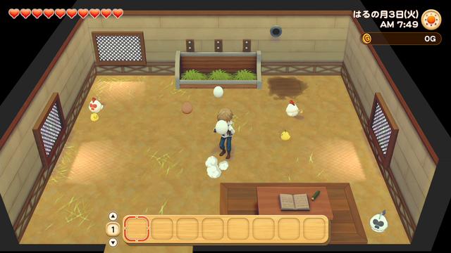 「牧場物語」系列首次在Nintendo SwitchTM平台推出全新製作的作品!  『牧場物語 橄欖鎮與希望的大地』 於今日2月25日(四)發售 022