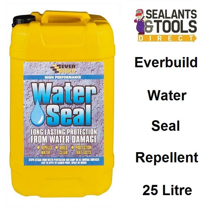 Everbuild 402 Water Seal Water Repellent 25 Litre WAT25