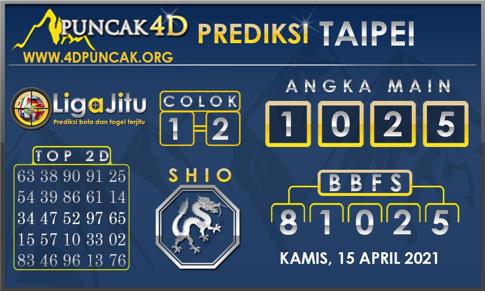 PREDIKSI TOGEL TAIPEI PUNCAK4D 15 APRIL 2021