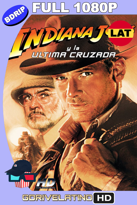 Indiana Jones 3: La última cruzada (1989) BDRip 1080p latino-ingles MKV