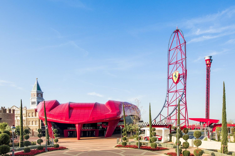 Ferrari Land panoramic