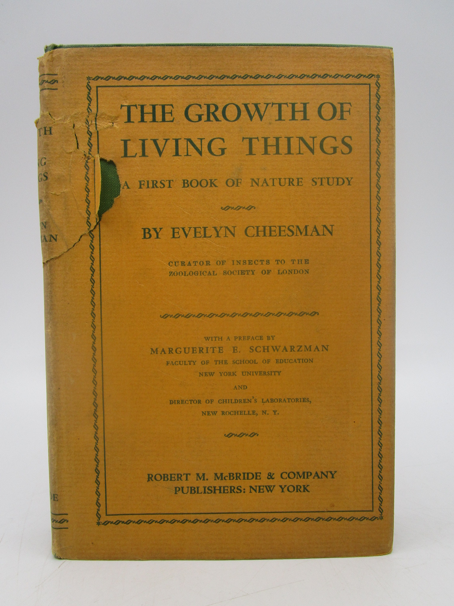 Image for The Growth of Living Things; A First Book of Nature Study