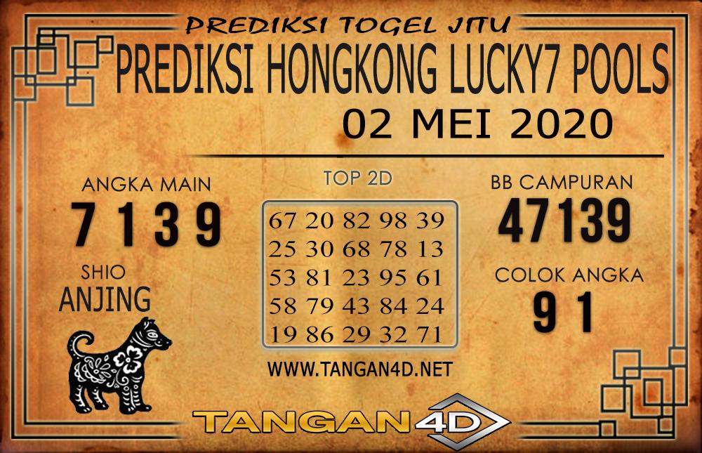 PREDIKSI TOGEL HONGKONG LUCKY 7 TANGAN4D 02 MEI 2020