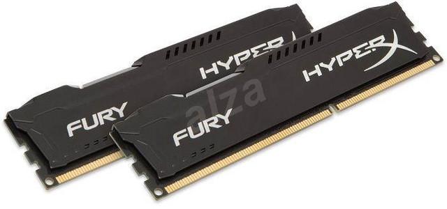 P: HyperX 16 GB KIT DDR3 1866 MHz CL10 Fury Black Series