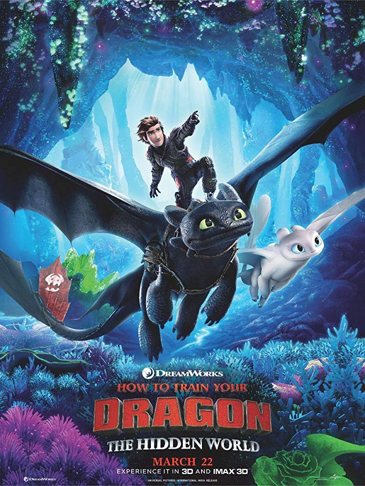 How to Train Your Dragon 3 2019 Hindi Dubbed Cleaned Audio HDRip x264 AC3