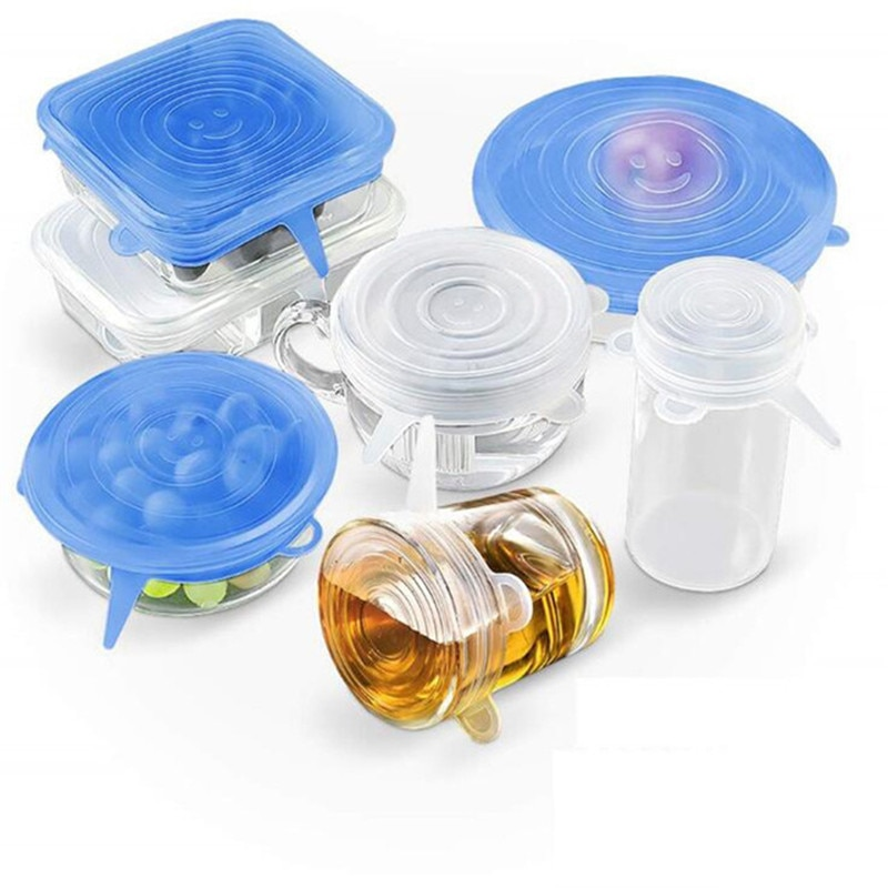 06-Pcs-Kitchen-Gadgets-Kitchen-Accessories-Reusable-Silicon-Stretch-Lids-Universal-Lid-Silicone-Food