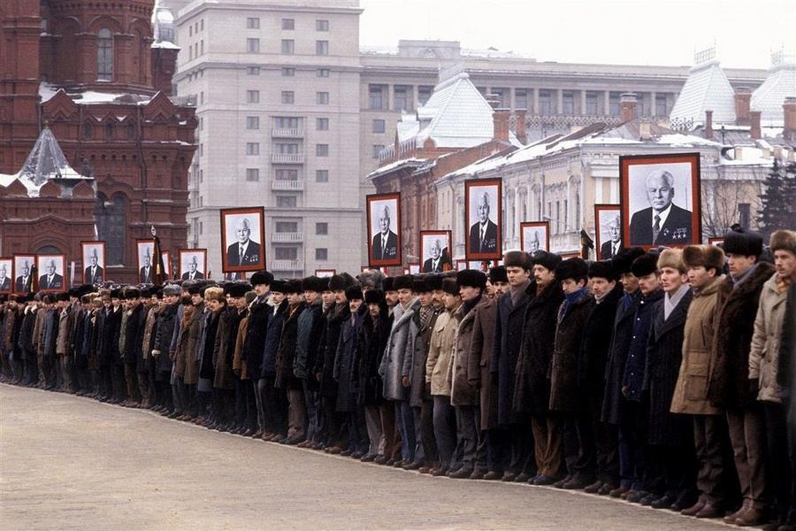 Жизнь СССР в фотографиях Юрия Абрамочкина 18