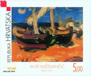 2000. year HRVATSKA-LIKOVNA-UMJETNOST-ANTE-KA-TELAN-I