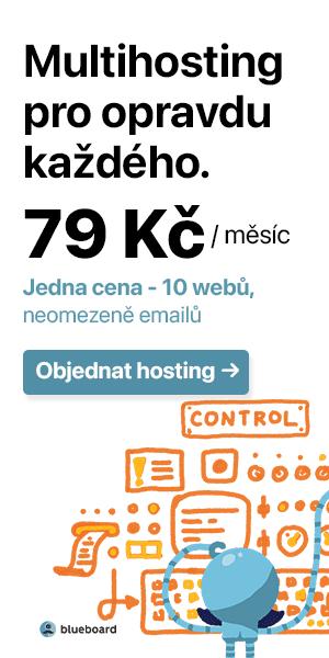 Hosting 79 Kč!