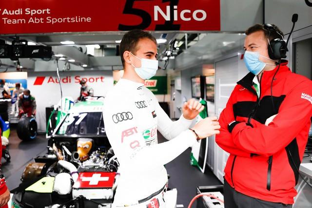 DTM – René Rast remporte le podium Audi au Lausitzring A204797-medium