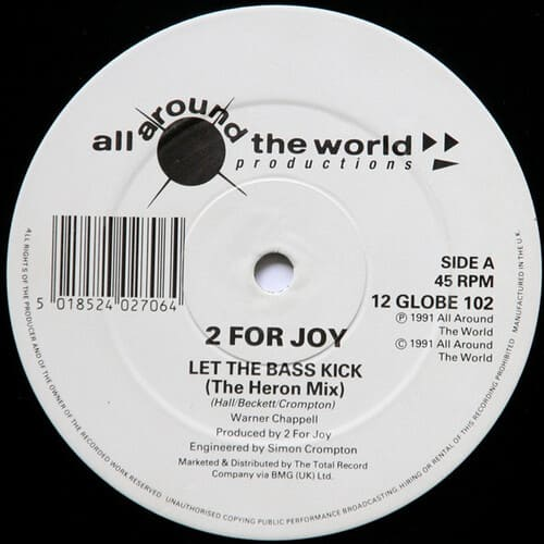 Download 2 For Joy - Let The Bass Kick mp3