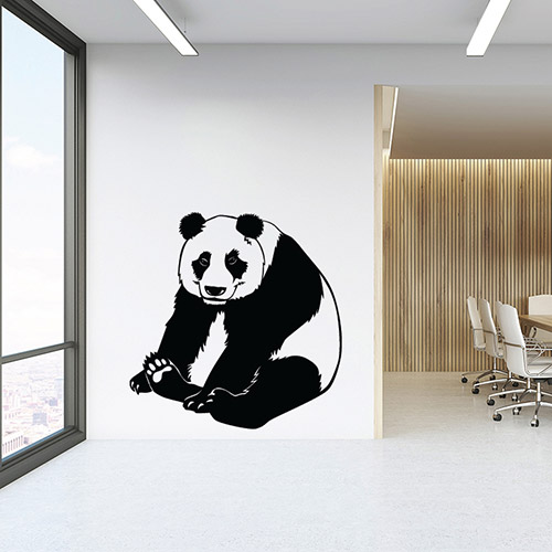 Adhesive edge Modern AfricaDecoration Wall Mural for Easy to Apply