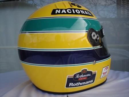 1994 ayrton senna f1 grand prix race helmet poster dvd 5