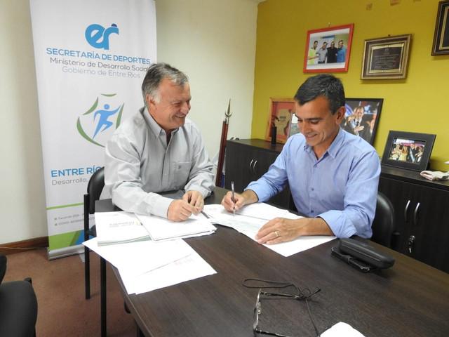 Aldea San Antonio recibi� 67.000 $ para actividades deportivas