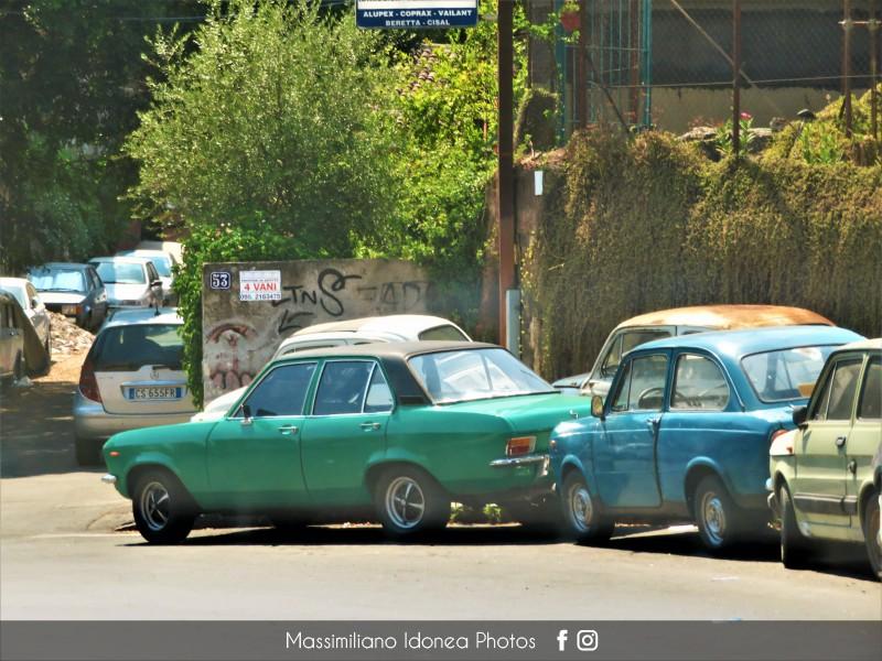 avvistamenti auto storiche - Pagina 31 Opel-Ascona-1-2-60cv-73-CT330074-Fiat-850-600-e-500