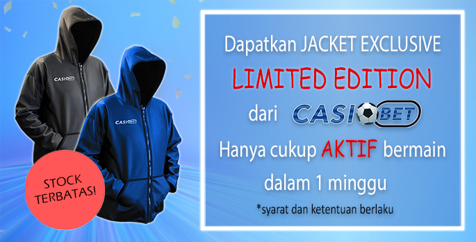 NEW Promo Casiobet Jaket Hoodie Special Limited Edition