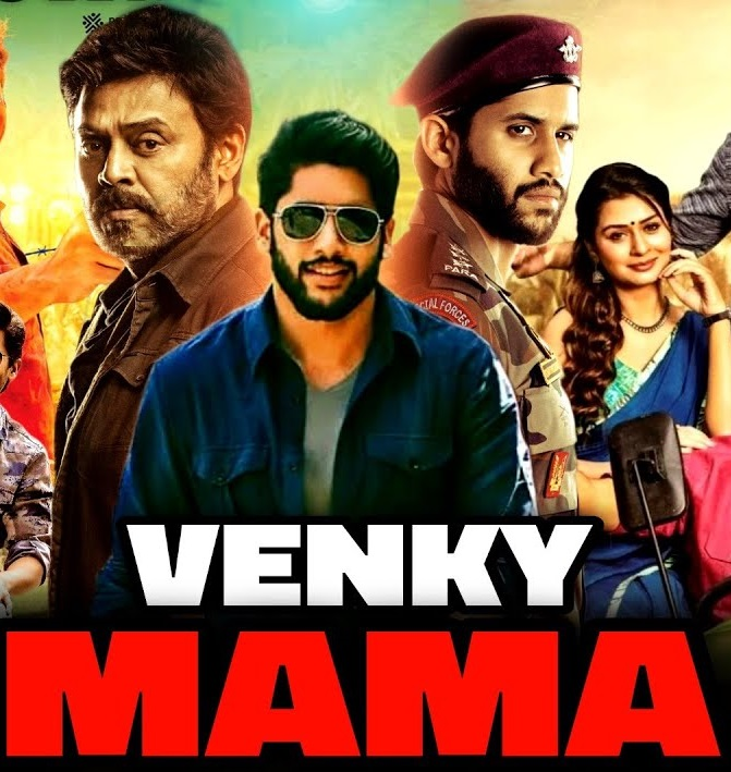 Venky Mama (2021) New Released Hindi Dubbed 720p UNCUT HDRip 800MB Download