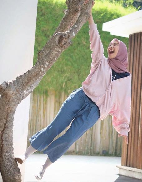 Мусульманка в стиле  kasual