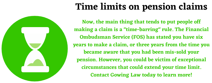 Time limits on pension claims help