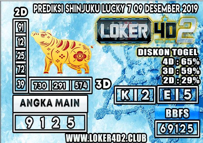 PREDIKSI TOGEL SHINJUKU LUCKY 7 POOLS LOKER4D2 09 DESEMBER 2019
