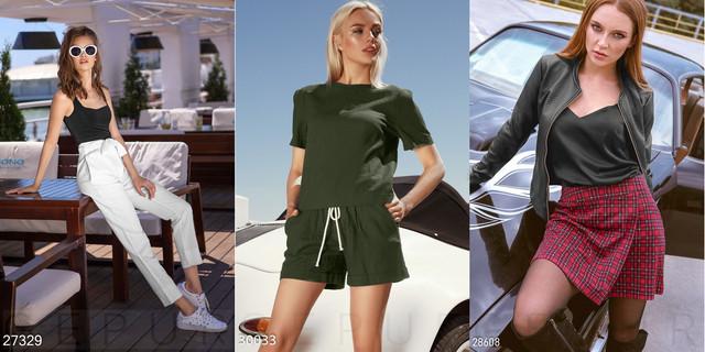 жіночі шорти та шорти-спідниці фото