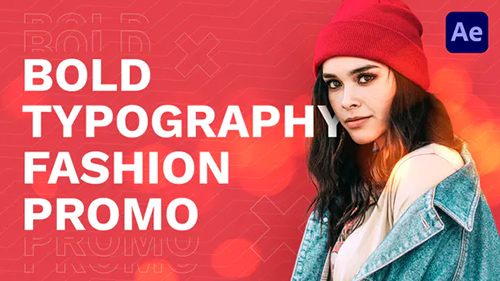 Bold Typography Fashion Promo 30573558 - Project for After Effects (Videohive)