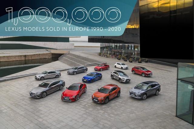 Lexus a vendu 1 million de voitures en Europe 1mlexusineuropev3