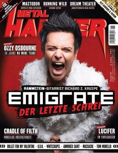 Cover: Metal Hammer Musikmagazin No 11 2021