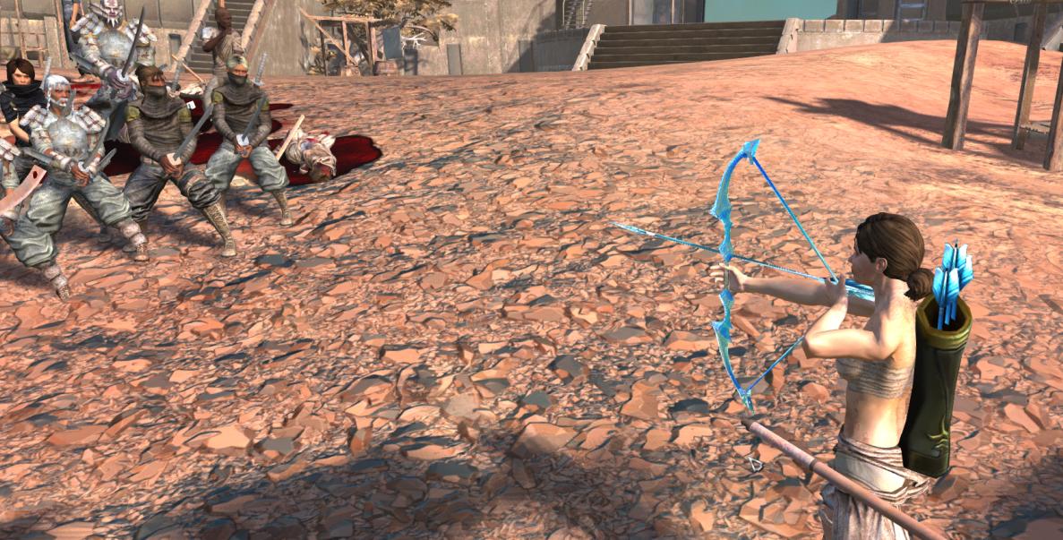 ranger +Archery movement/ Рейнджер + Стрельба из лука (RU)