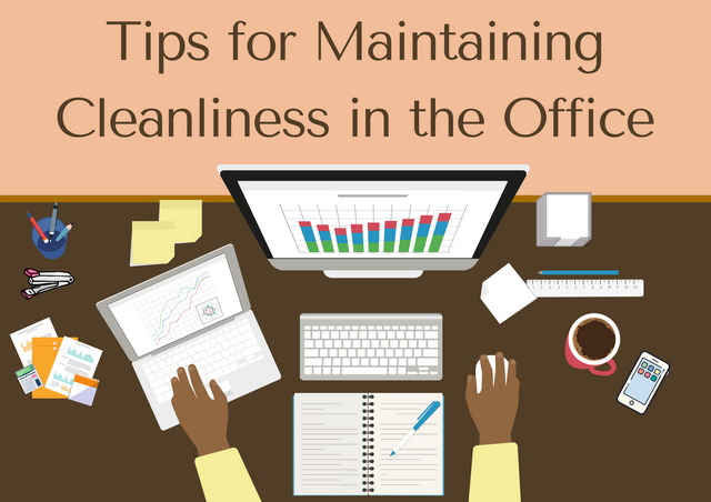 Tips-for-Maintaining-Cleanliness-in-the-Office